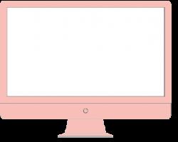 computer image pink