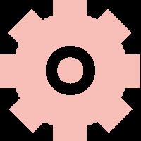 widget icon pink