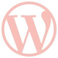 wordpress-logo pink