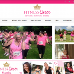 fitness queen front page