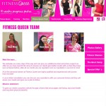old fitness queen team page